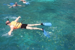 Snorkeling at Pileh Cove